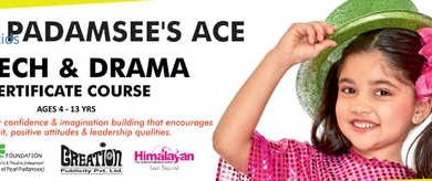 Raell Padamsees speech and Drama classes in august 2017