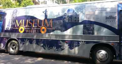 museum on wheels in sathye college mumbai