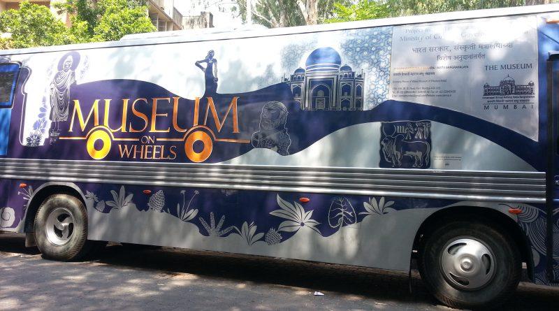 museum on wheels in sathye college mumbai