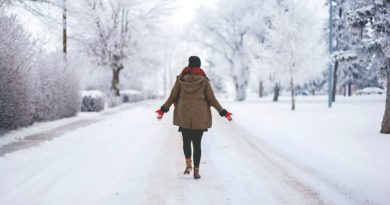 Winter holiday healthy tips